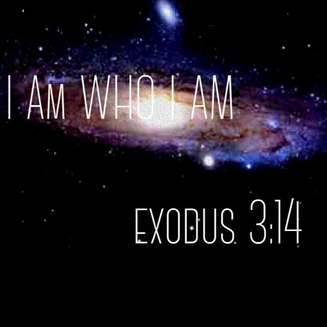 I AM Who I AM! God is the Great I AM! He is ALL You Will ever need & ALL that You will ever want.