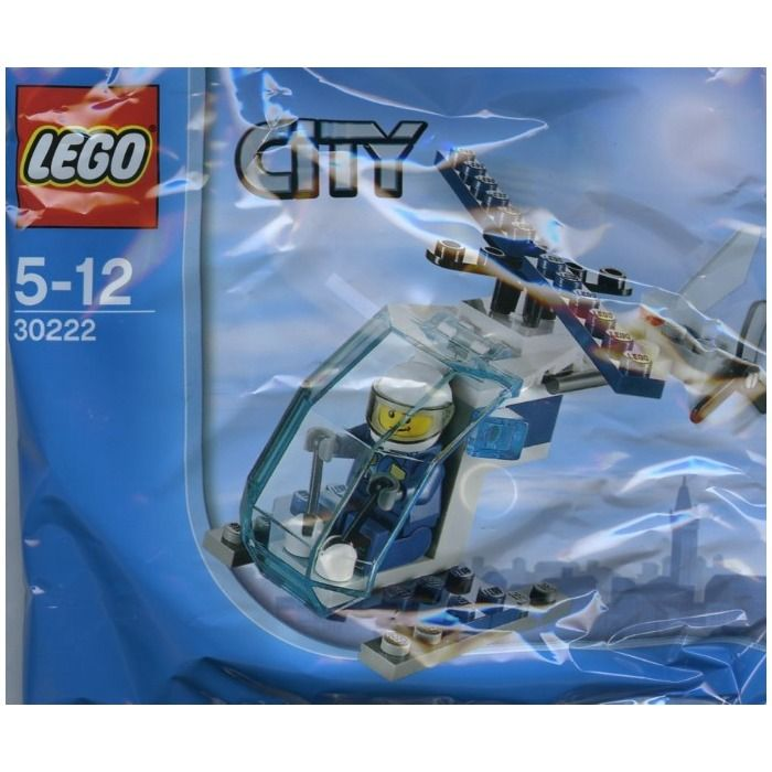 lego police helicopter 10720 instructions