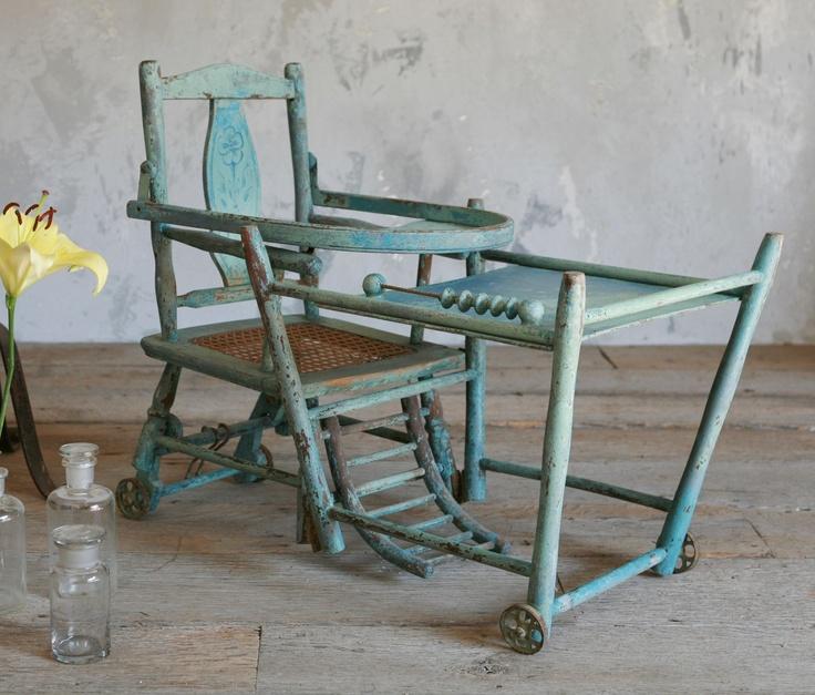 La chaise haute qui se transformait en chaise basse