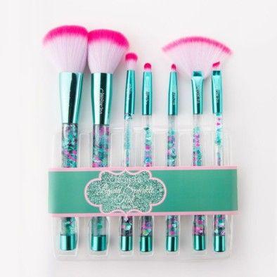 Liquid Rose Sparkle Brush Set