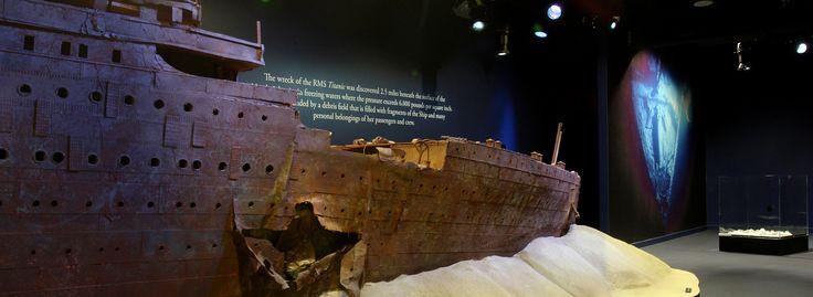 15 Aprile 1912 A 105 anni dal naufragio del transatlantico Titanic arriva in Italia, a Torino, la mostra che ha commosso il mondo.