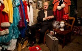 Actor Roy Hudd takes us inside the costume room at Wilton's Music Hall