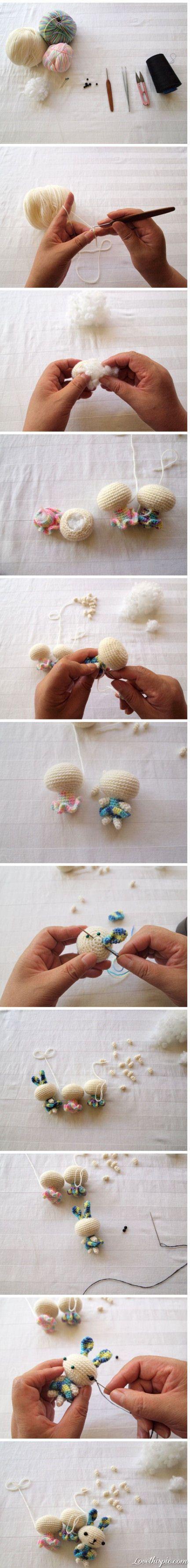 DIY Stuffed Animals, so cute