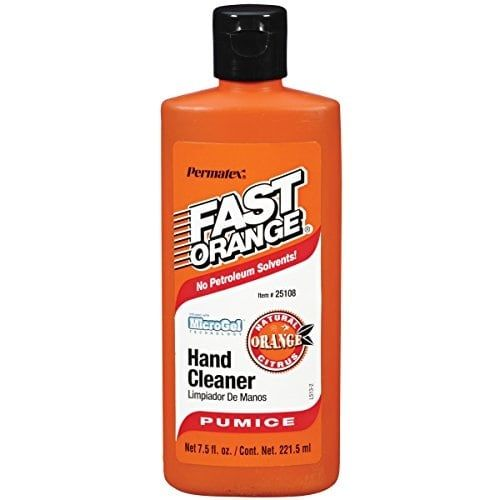 Permatex 25108 Fast Orange Pumice Lotion Hand Cleaner, 7.5 o