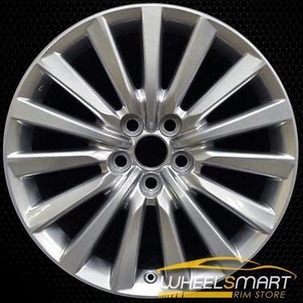 19 Lexus Ls460 Oem Wheel 2013 2017 Hypersilver Alloy Stock Rim