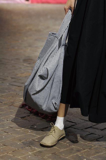 Daniela Gregis, love the shoe and sock element