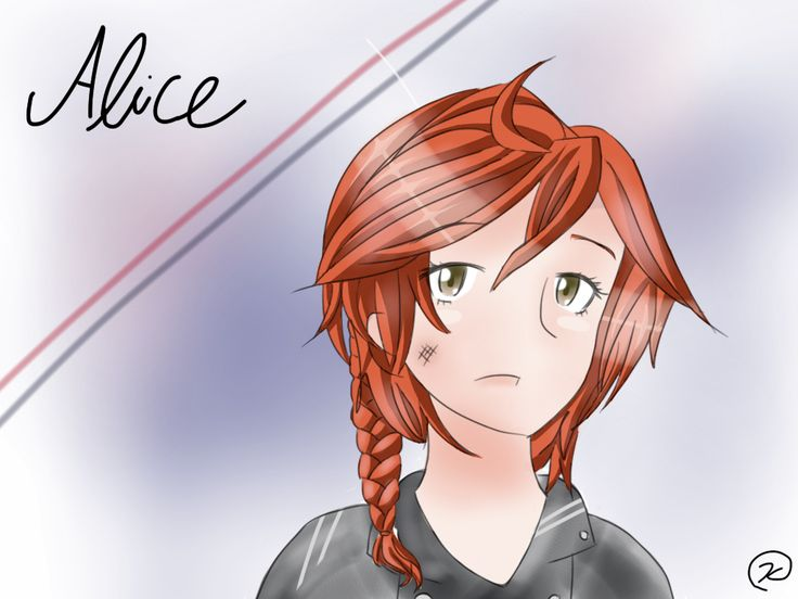 """Alice from the book """"what is home"""" by bookbird1497 on wattpad"""
