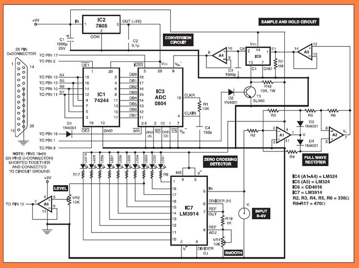 17 best images about electronique schema circuit pc based oscilloscope circuit diagram