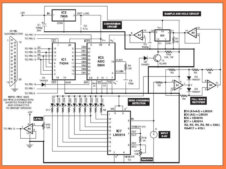 Pc Based Oscilloscope Circuit Diagram