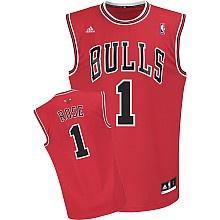 adidas Chicago Bulls Derrick Rose Youth (Sizes 8-20) Replica Road Jersey - NBAStore.com