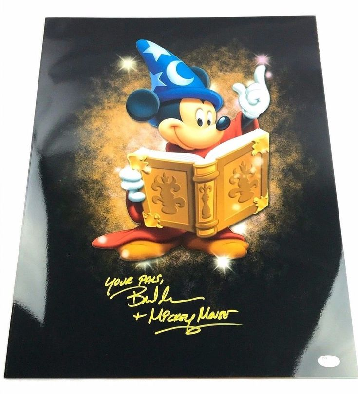 Bret Iwan Autograph 16x20 Photo Mickey Mouse Picture Signed JSA Disney Z2