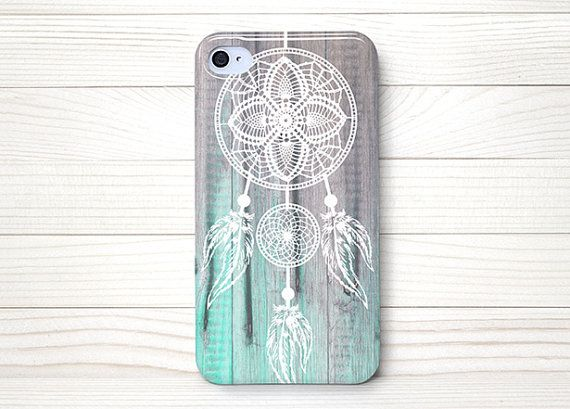 iPhone 4 Case, iPhone 4 Cases, iPhone 4S Case, iPhone 4 Case Wrap Around - Dream Catcher Wood - 135