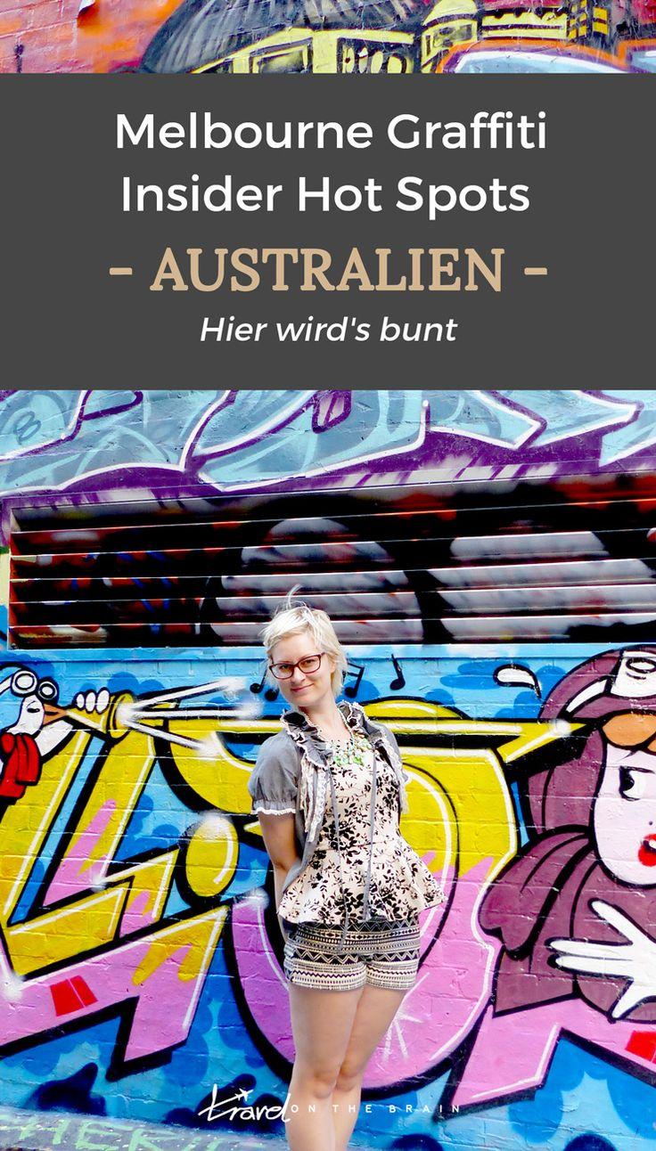 Melbourne ist eine der buntesten Städte mit einer wilden Street Art Szene und Straßen, die komplett mit Graffiti besprüht sind. Hier sind die besten Straßen.