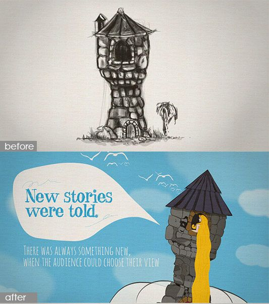 """The making of our """"Ode to Prezi"""" story"""