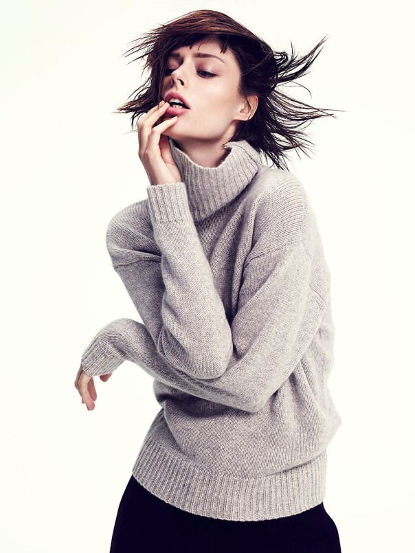 cool Allure Magazine Korea November 2014 | Coco Rocha by Mikael Schulz  [Editorial]