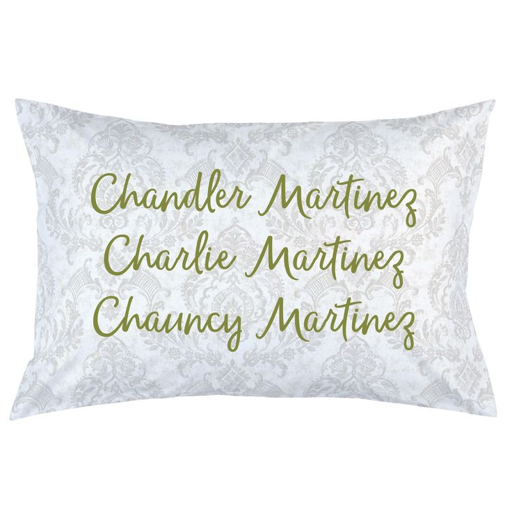 Personalized Pillow Case | Custom Pillow Case | Carousel Designs