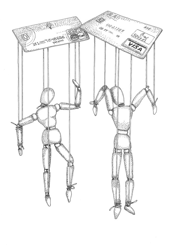 Puppets w/ strings