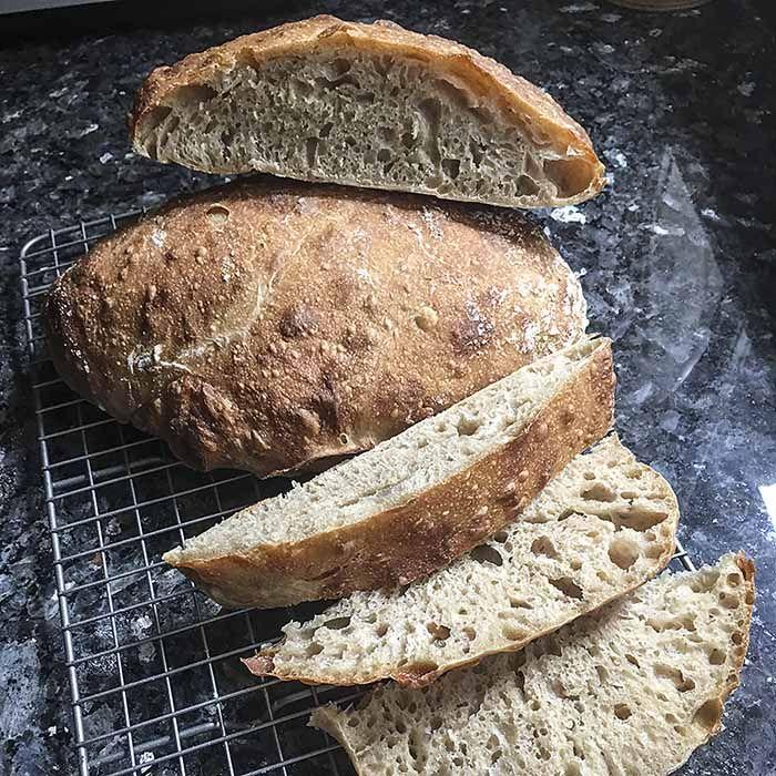 Whole Grain Spelt Sourdough Ciabatta Recipe Ciabatta Food