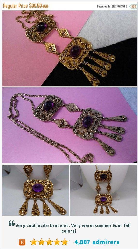 On Sale 1960's High End Purple Glass Vintage Statement Fringe Necklace, Old Hollywood Glamour Jewelry #etsysellsvintage #Etsy #Vintage #etsyvintage #etsyshop #etsyfinds #vintageetsy, #vintagejewelry #vintageclothing #smallbusiness, #entrepreneur, #smallbiz #startup #vjse2 #teamlove #vintagestyle #wfhmom #followforfollow #momboss #estatesalefind #thriftstorefind #purple #statement #necklace #shopnow #vintageshop #martinimermaid #martini #mermaid #vintage #shop #rhinestones #artdeco…
