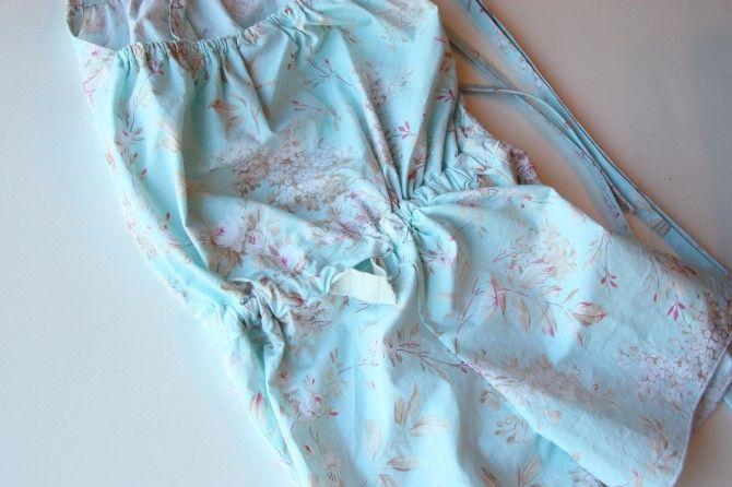 Little Girl Romper Sewing Tutorial.