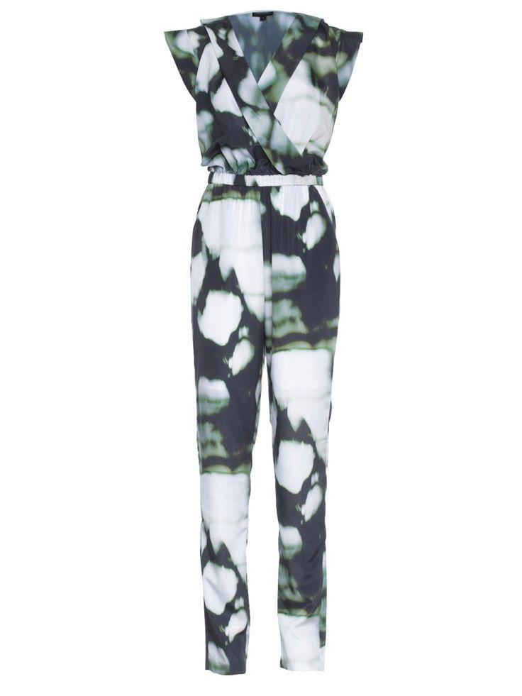 Howard Showers - Adele Galaxy Print Mock-wrap Jumpsuit, $109.00 (http://shop.howardshowers.com.au/adele-galaxy-print-mock-wrap-jumpsuit/)
