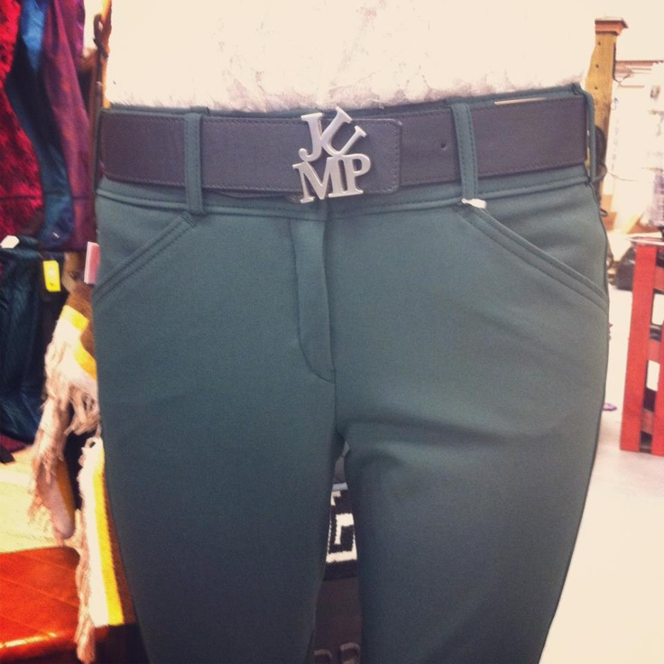 Dark Green Tailored Sportsman breeches and that belt <3