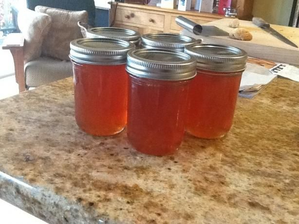 Guava Jelly...Finally something to do with all the guavas from our tree!