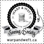 Warp & Weft Sewing Society – #sewing #Society #War…