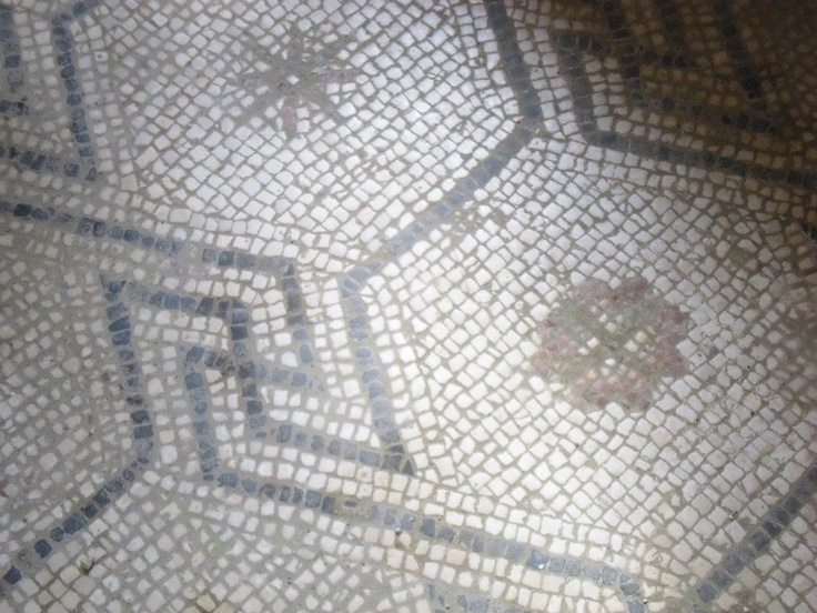 Mosaic in the House of Diana at Ostia Antica, by Arrie Wilson (Summer Archaeology Field School 2012).