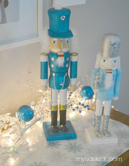 Best blue christmas decor ideas on pinterest