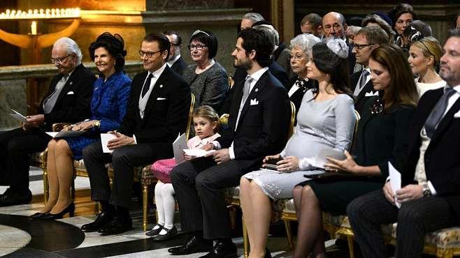 Prinsessa Sofian torstaina nähty raskaustyyli sai muotiasiantuntijalta täydet pisteet.