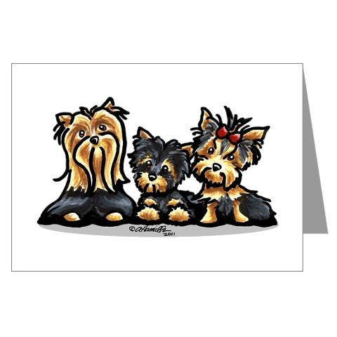 Yorkies: my all time favorite dog breed.... EVER!!