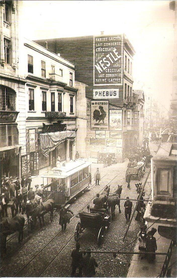Bir zamanlar İSTANBUL, İstiklal Caddesi / 1905