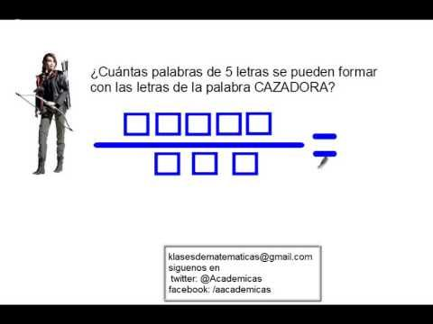 Probabilidad y Teoría de Conjuntos 4- Técnicas de Conteo: Regla Multiplicativa y Aditiva - YouTube