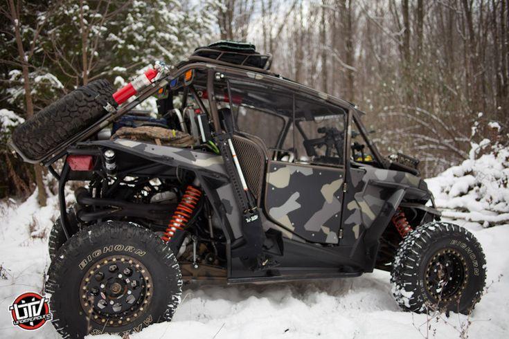 Feature Vehicle: HMF Survival RZR from UTVUnderground.com