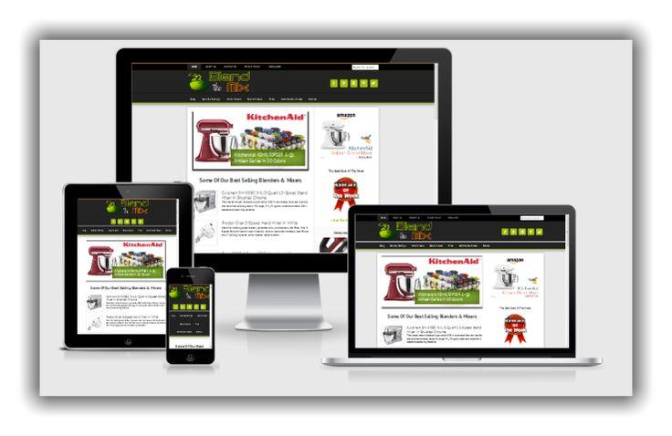 Mixer Website for sale