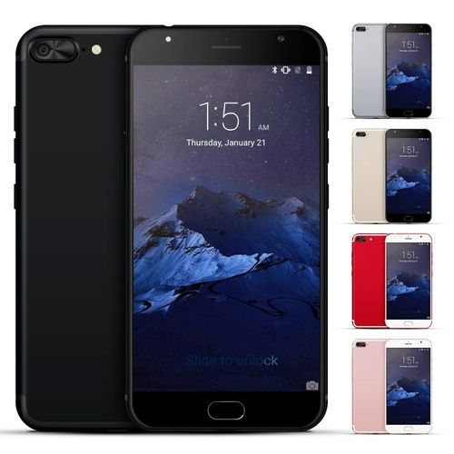3fa1f7fe9fd 5.5 inch 3G Smartphone Android 5.1 MTK6580 Octa Core 4GB Ram 32GB Rom HD 8MP  Dual SIM Mobile Cell Phones GPS WiFi