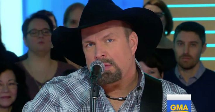 "Garth Brooks performs a fiery new version of ""The Thunder Rolls"""