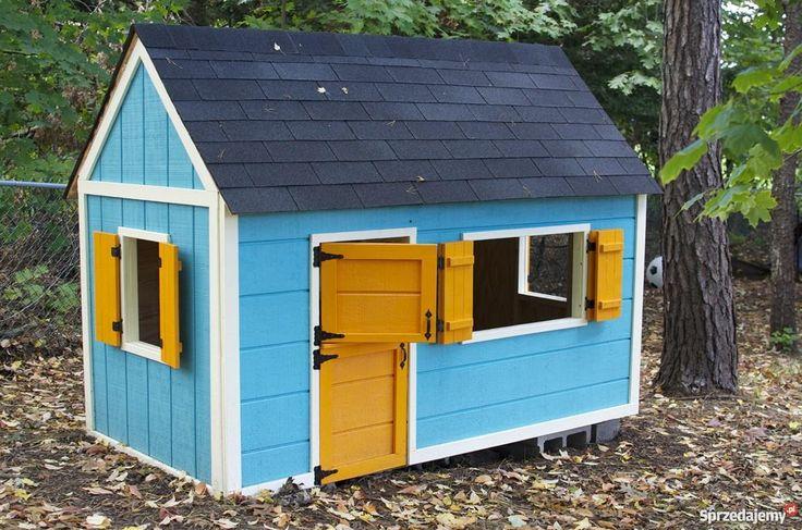 Projekt domek dzieci ogrodowy zrób to sam mazowieckie