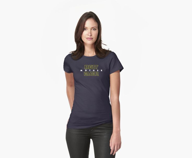 Star Wars themed tee for the best mother. / Ideal as a gift for the…