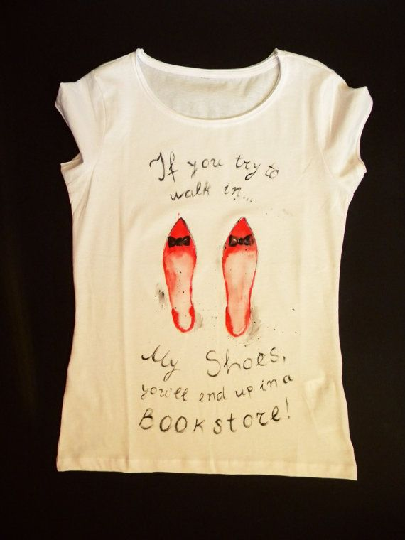 Woman T-shirt/ t-shirt for her/ feminist tshirt/ by CadizTheYorkie