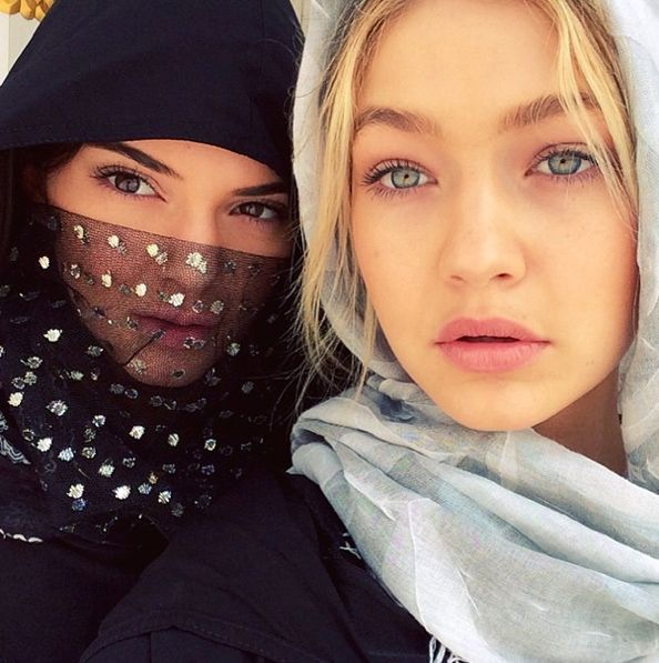 Gigi Hadid and Kendall Jenner hit the UAE for a whirlwind vacation.