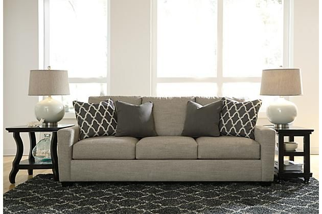 Stone Crislyn Sofa View 1 Gray Sofa Pinterest