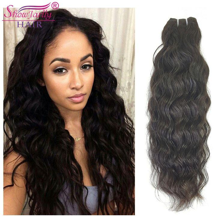 "16"" Unprocessed Raw Indian Hair Bundles Natural Wave Wavy Weft Virgin Human Hair http://ift.tt/2vTHxw4"