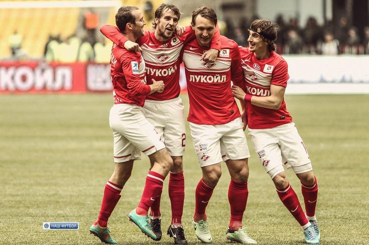 Спартак - Анжи (2-0) 26-й тур СОГАЗ-Чемпионат России по футболу 2012/2013