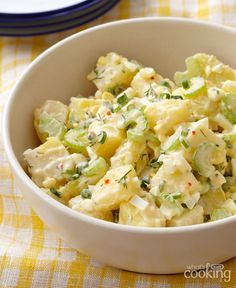 La meilleure salade de pommes de terre crémeuse #recette