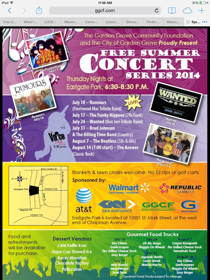 Concerts In Central Park Huntington Beach Ca