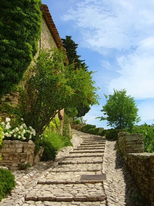 """provencetoujours: """"Joucas Steps by TuscanSon """""""