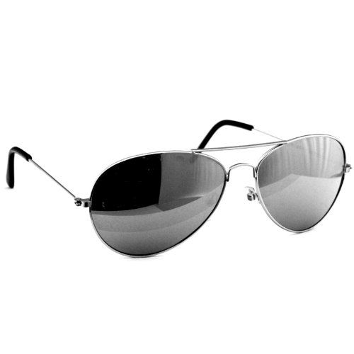 Oramics Jack Ass Brille Retro verspiegelte Pornobrille Piloten Sonnenbrille Brille 400UV