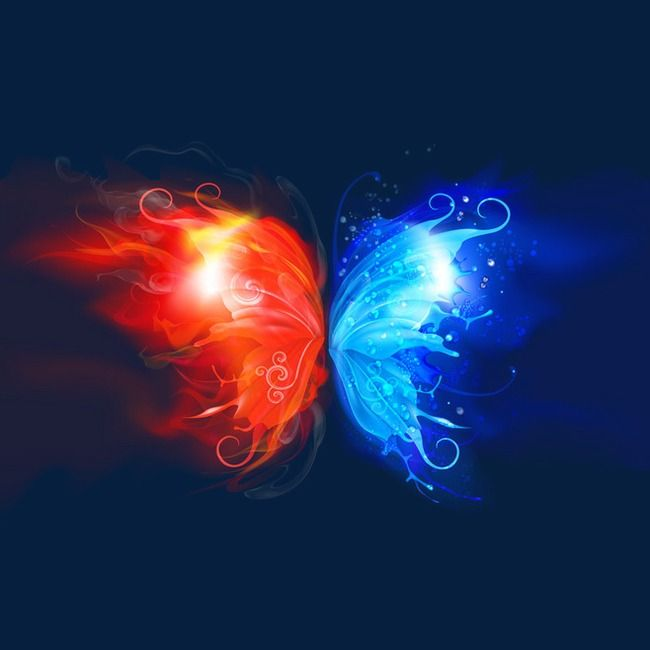 And Ice Light Effect Widespread Collision Png Transparent Clipart Image And Psd File For Free Download Beautiful Dark Art Flame Art Twin Flame Art